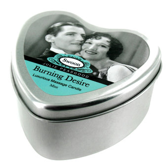 Swoon Burning Desire Massage Candle Mint