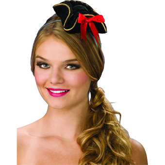 Mini Sexy Pirate Costume Hat