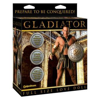Gladiator Blow Up Male Sex Doll