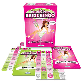 Drink And Dare Bride Bingo