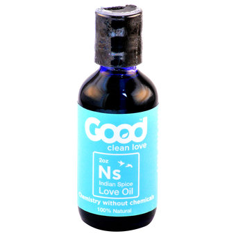 Good Clean Love Oil Indian Spice 2oz