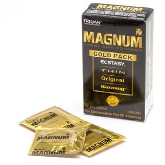 Trojan Magnum Gold Collection Assorted Large Condoms (10 Count)