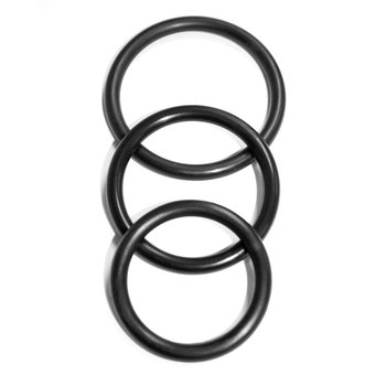 Sex & Mischief Nitrile Cock Ring Set (3 Pack)