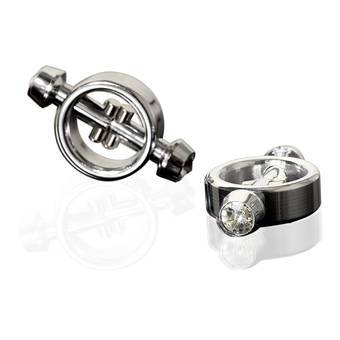 Metal Worx Magnetic Crystal Tip Nipple Clamps