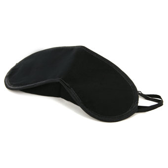 Soft Blindfold Eye Mask with Nose Bridge