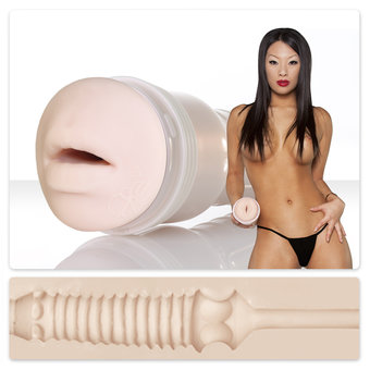 Asa Akira Fleshlight Girls Swallow Fleshlight