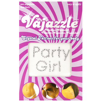 Vajazzle Party Girl Body Tattoo