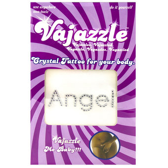 Vajazzle Angel Body Tattoo