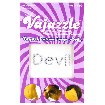 Vajazzle Devil Body Tattoo