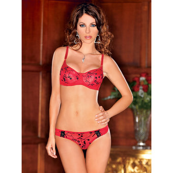 iCollection Bra and Thong Set