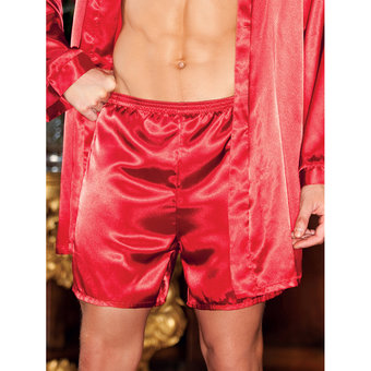 iCollection Satin Pyjama Shorts