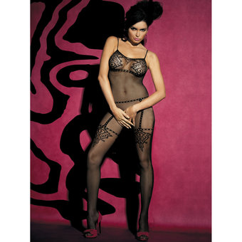 Obsessive Fishnet Crotchless Bodystocking