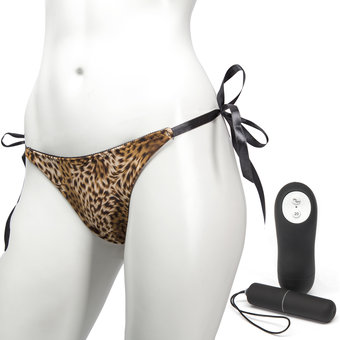 Remote Control 20 Function Bullet Vibrating Knickers