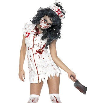 Fever Zombie Nurse Halloween Costume