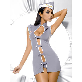 Obsessive Sexy Air Stewardess Uniform Costume