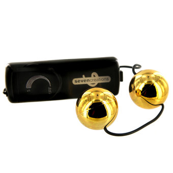 Orgasm Gold Multispeed Vibrating Love Balls