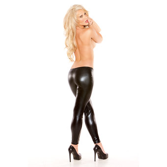 Kitten Wet Look Leggings