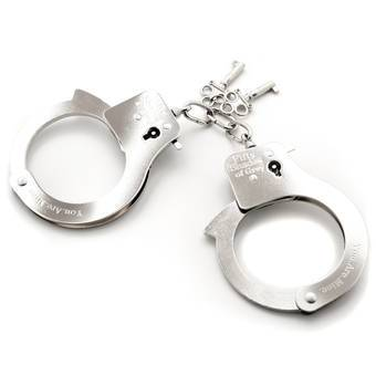 Fifty Shades of Grey You. Are. Mine. Metal Handcuffs