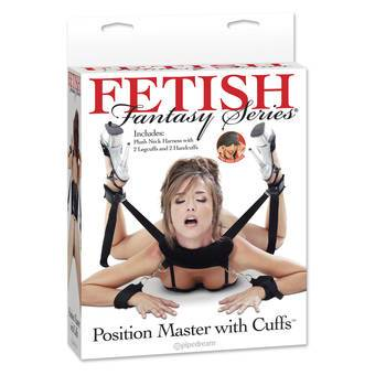 Fetish Fantasy Sex Position Master with Restraint Cuffs