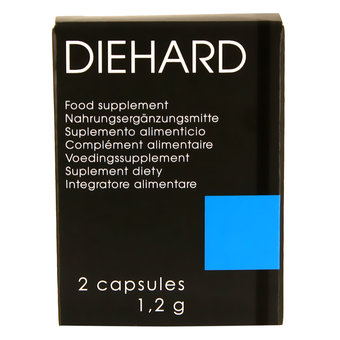 Diehard Erection Enhancer Formula Capsules (2 Pack)