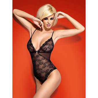 Obsessive Charm See Through Lace Teddy