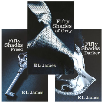 Fifty Shades of Grey Trilogy by E L James
