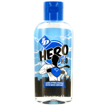 ID Hero H2O Hypoallergenic Water-Based Lubricant 130ml