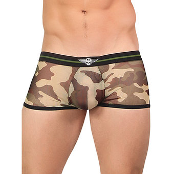 Male Power - Camouflage - Transparente Mini-Boxershorts