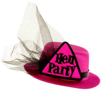 Miss-Chief Hen Party Mini Top Hat