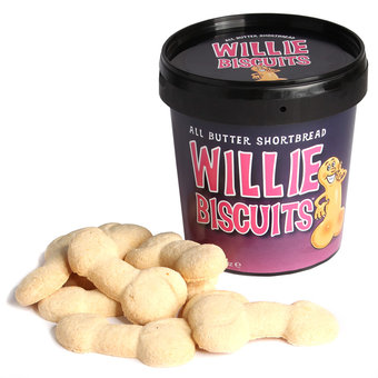Silly Willy Shortbread Biscuits (12 Pack)