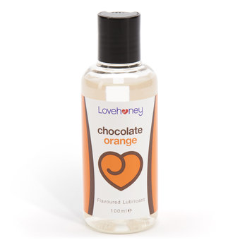 Lubrifiant parfumé au chocolat à l'orange 100 ml par Lovehoney