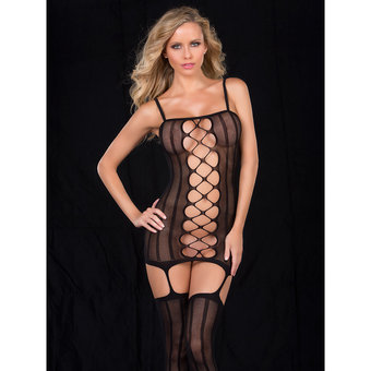 Oh La La Cheri Seamless All-in-One Sexy Bodystocking