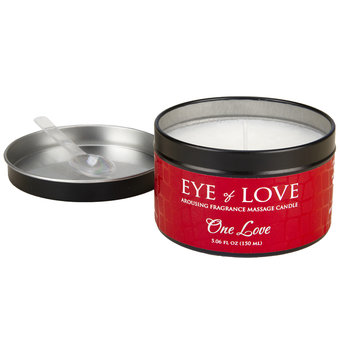 Eye of Love - One Love - Anregende Massagekerze, 160 g