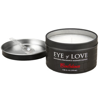 Eye of Love - Confidence - Anregende Massagekerze, 160 g