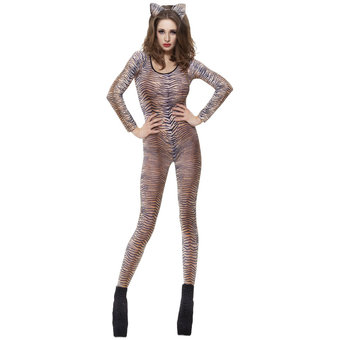 Fever Tiger Print Bodysuit