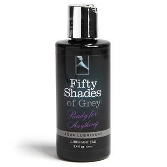 Fifty Shades of Grey Ready for Anything Aqua Lubricant 100ml