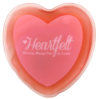 Blush Luxe Heartfelt Warming Heart Massager