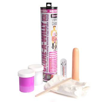 Clone-A-Willy Vibrator Moulding Kit Neon Purple