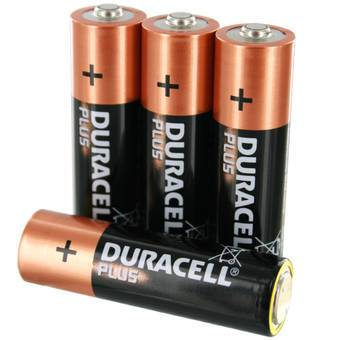 4 AA Batteries