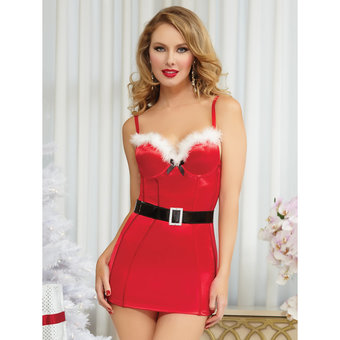 Seven Til Midnight Naughty n' Nice Sexy Santa Dress