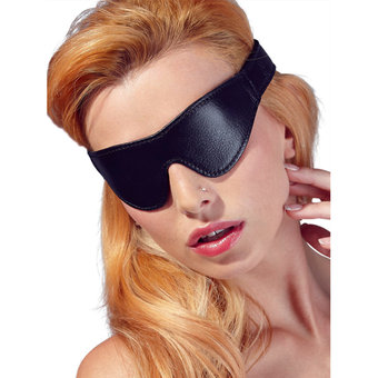 Faux Leather Blindfold
