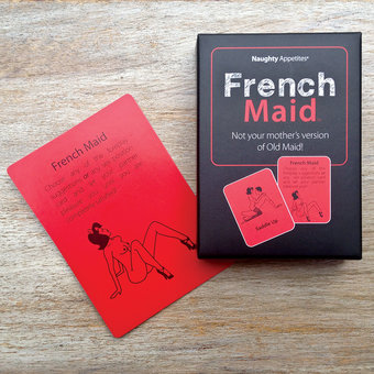 French Maid Card Game for Couples
