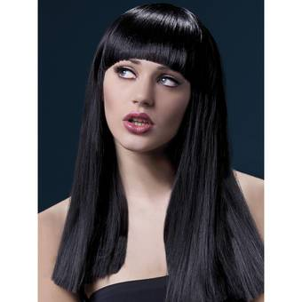 Fever Alexia 19 Inch Long Blunt Cut Wig with Fringe