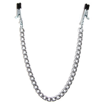 DOMINIX Deluxe Nipple Clamps with Chain