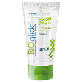 BIOglide Organic Water-Based Anal Lubricant 80ml