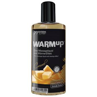 Warming Caramel Flavoured Massage Lubricant 150ml