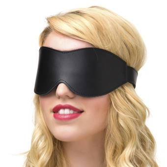 Bondage Boutique Advanced Leather Blindfold