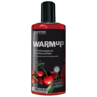 Warming Cherry Flavoured Massage Lubricant 150ml