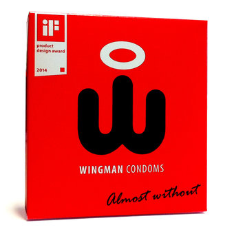 Wingman Ultra Thin Condoms with Applicator (3 Pack)