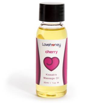 Lovehoney Oh! Cherry Lickable Massage Oil 30ml